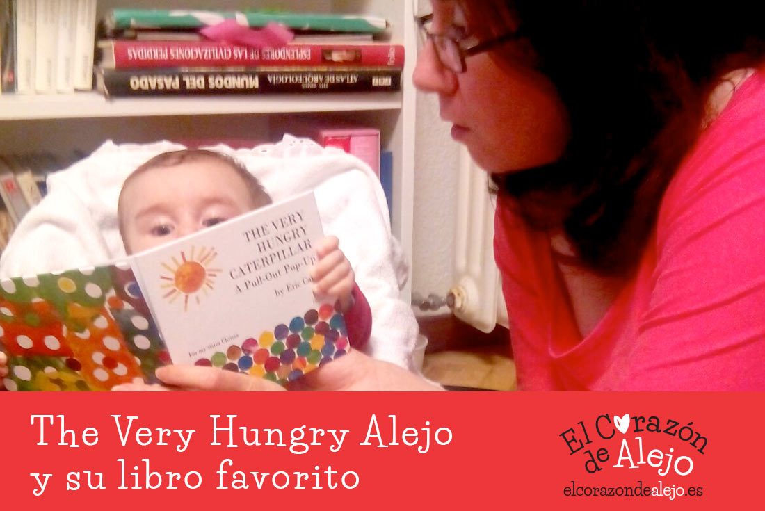 The very hungry Alejo y su libro favorito - El Corazon de Alejo - cover